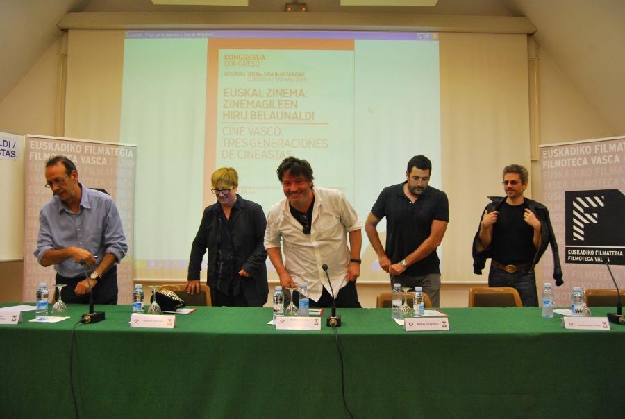 2-6 Antonio Santamaria, Helena Taberna, Enrique Urbizu, Daniel Calparsoro y Juanma Bajo Ulloa