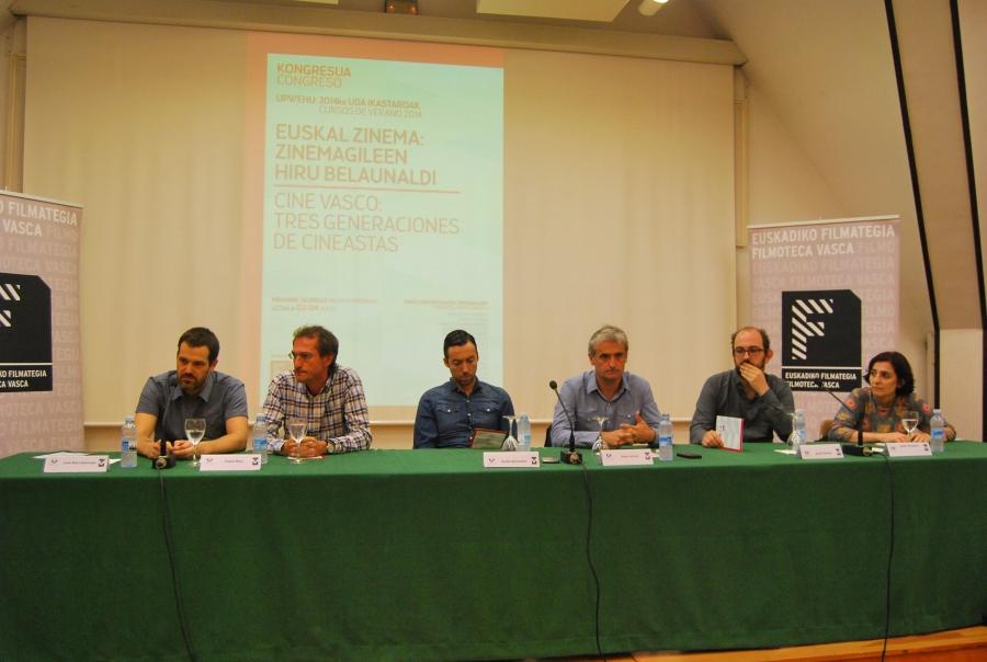 3-2 Jose Mari Goenaga, Pablo Malo, Koldo Almandoz, Asier Altuna, Borja Cobeaga y Isabel Herguera