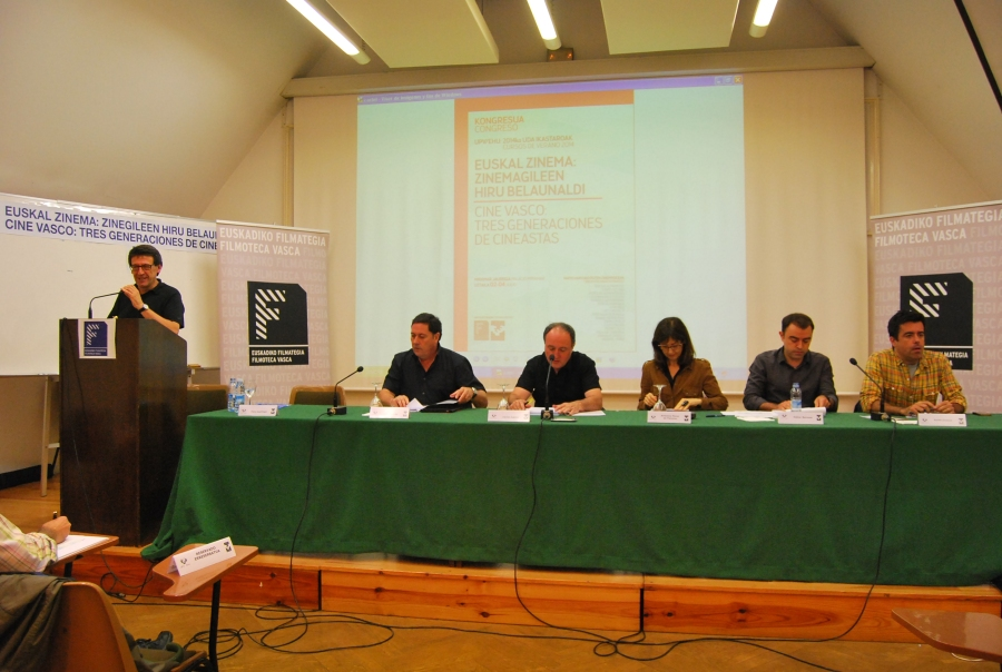 3-6 Xabier Berzosa, Carlos Juarez, Aintzane Perez del Palomar, Joxe Portela y Koldo Azua