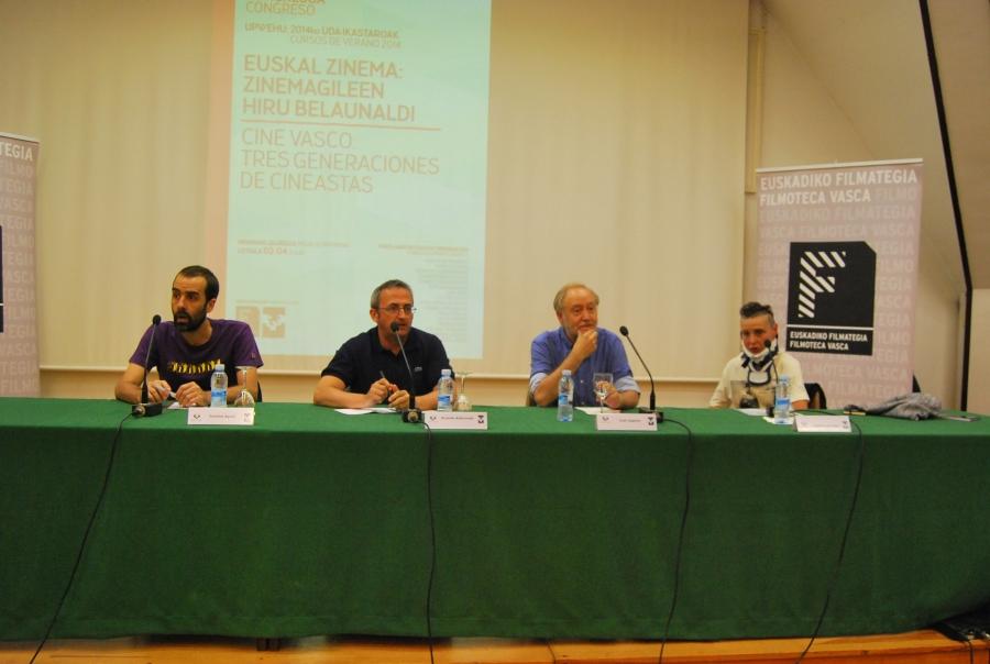 3-8 Gontzal Agote, Ricardo Aldarondo, Jesus Zapater y Begoña del Teso